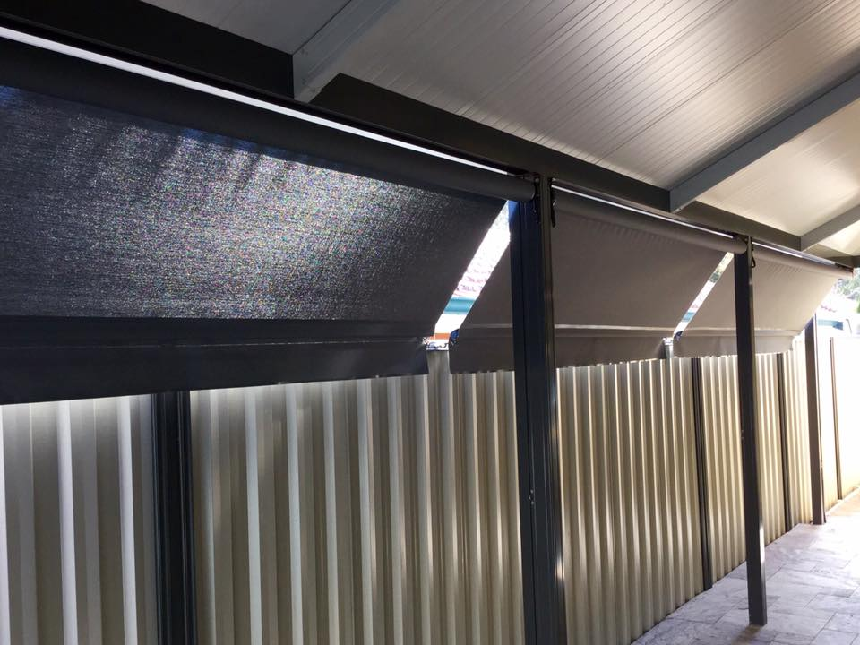 Roof To Fence Blinds Great Western Shade